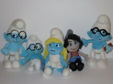 The Smurfs Smurfette Doll Vexy Nerdy Plush Figure Stuffed Animal LOT Bad JAKKS