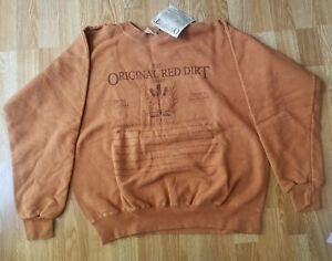 NWT Red Dirt Sweat Shirt Hawaii - MEDIUM - Full Front Design