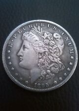 Morgan deux headed dollar coin 1895