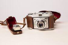 Kodak Retinette Vintage 35mm Film Camera And Case - Good Condition