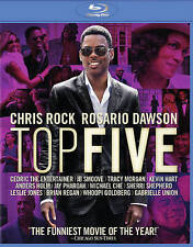 NEW CHRIS ROCK ROSARIO DAWSON TOP FIVE BLU RAY DVD UV  FREE FAST 1ST CLS S&H