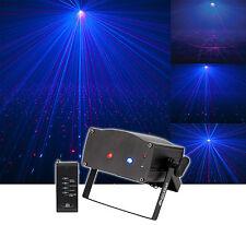 American DJ Micro Royal Galaxian Royal Blue Mini-Laser Light Effect + Remote
