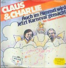 """7"""" Claus & Charlie/Auch Im Himmel Wird Jetzt Karneval Gemacht"""