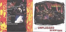CD 14 TITRES NIRVANA UNPLUGGED IN NEW YORK 1994 Geffen Records ‎– GED 24727