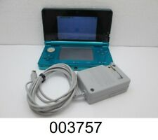 Nintendo 3DS CTR-001 Handheld Video Game Console Bundle - Teal Blue - Ships Fast