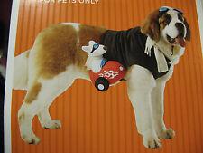 Pet Costume Sidecar Rider Dog Costume XL 30LBS-65LBS  3 PC Set NEW NWT