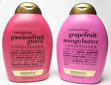 2 PK Organix PassionFruit Guava & Grapefruit Mango Butter Conditioner RARE