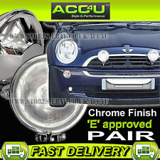 Anillo chrome-lite automóvil 12v 4.5 Pulgadas Cromo Redonda conducción Halógena lámparas del punto Luces