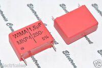 5pcs - WIMA MKP4 1.5uF (1.5µF 1,5uF) 250V 5% pitch:22.5mm Capacitor