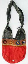 R343 New Trendy & Artistic Shoulder Drop Cotton Bag Hand Made in Nepal