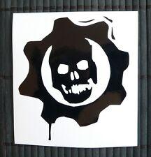 adesivo TESCHIO scheletro sticker decal vynil vinile skull risk auto moto car