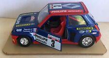 Burago cod 0160 Renault 5 turbo Tour de Corse Ragnotti Thimonier 1/24ème