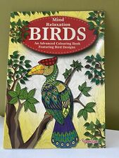 Mind Relaxation Birds Advanced Colouring Book With Various Bird Design