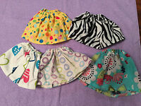 "Fits 18"" Ideal Crissy Doll CLothes Skirts Handmade RANDOM Lot of 5pcs"