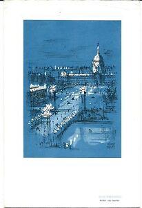 Air France April 22, 1966 Menu I. B. M. Club Charter New York - Paris