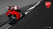 """016 Ducati - Monster Multistrada Panigale Super Motorcycle 42""""x24"""" Poster"""