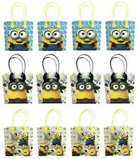 Minion Goody Bag Party Goodie Gift Birthday Candy Bags 12pc