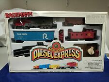 BACHMANN HO ELECTRIC TRAIN SET DIESEL EXPRESS