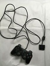 Sony PlayStation 2 Video Game Controller SCPH-10010 Dual Shock Black @G6