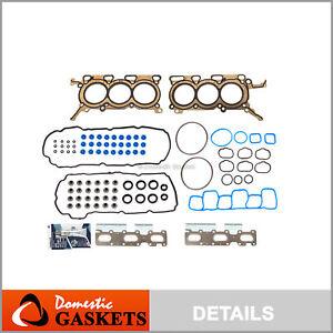 Head Gasket Set Fits 2011-2013 Ford Edge 3.5L V6 DOHC