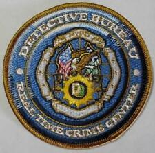 embroidery patch Police Department new york city detective nypd bureau