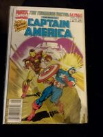 Captain America Annual #9 VF+ condition(1990, Marvel) Iron Man  Bagley