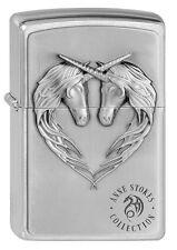 ZIPPO Feuerzeug UNICORN HEART Anne Stokes Collection 3D Einhorn Herz NEU OVP