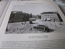 Hannover Archiv Stadtbild 23 Aegidientorpklatz 1878 mit Pferdetram Foto