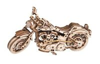WOODEN CITY® Cruiser V-Twin, Holzmodellbausatz, 3D Holzpuzzle,Motorrad,Motorbike