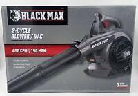 Black Max 26cc 2-Cycle Engine 400 CFM Gas Blower / Vacuum