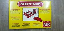 Vintage Meccano geared motor set 9v-12v Brand new Electric Motor.FREESHIP!
