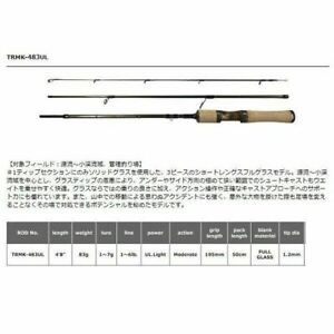 Smith Troutin Spin Multi Youse TRMK-483UL Trout Spinning Rod Stylish anglers