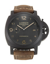 Panerai Luminor 1950 3 Days GMT Black Dial Swiss Men's Watch PAM00441