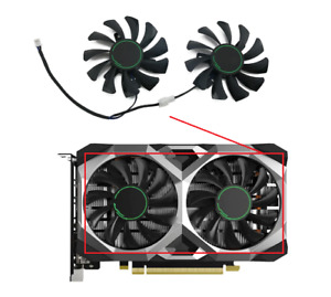 Fan For MSI GTX1650 GTX 1650 SUPER VENTUS XS GPU Card Cooler 75MM HA8010H12F-Z