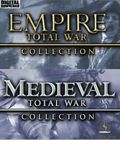 Empire Total War Collection + Medieval Total War Collection Steam Key Pc Global