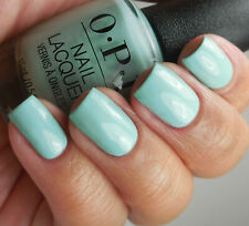 OPI Grease WAS IS A JUST A DREAM Light Turquoise Creme Nail Polish Lacquer G44