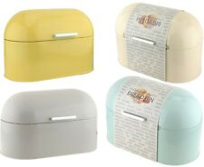 More details for bread bin metal vintage tin loaf storage box kitchen home patio food container