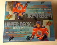 2016-17 2016/17 UD Upper Deck Series 1 Hockey Factory Sealed Retail Box 6 YG's