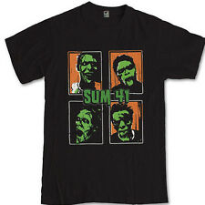 SUM 41 zombie T-shirt S M L XL 2XL 3XL Canadian rock band Deryck Whibley