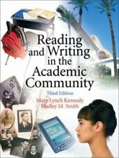 Reading and Writing in the Academic Community (3rd Edition)