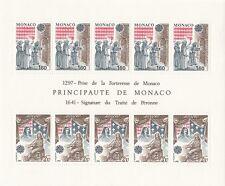 Monaco 1982 Bf 20 Europa avvenimenti storici MNH