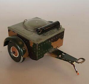 TCO Tippco Militär Blechspielzeug Feldküche Gulaschkanone Anhänger 30er