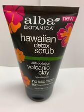 Alba Botanica Detox Scrub Hawaiian Volcanic Clay Hypo-Allergenic 4 Fluid Ounces