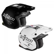 HEBO ZONE 4 LIGHT WEIGHT CARBON FIBRE TRIALS TRAILS OFF ROAD MOTORCYCLE HELMET