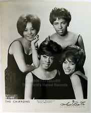 ORIGINAL 1960's 8x10 Publicity Photo The Chiffons Soul