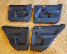 VW Golf 5 Plus 1KP Türpappen Türverkleidung Teilleder vorne + hinten + Schalter