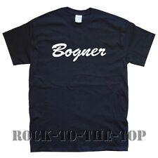 BOGNER amp new T-SHIRT sizes S M L XL XXL black white grey brown maroon