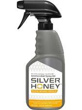 Absorbine Silver Honey Rapid Wound Repair Spray Gel for Animals 8oz