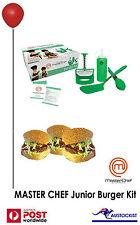 JUNIOR MASTERCHEF: Kids burger kit - Healthy homemade burgers - BNIB- 6 and over