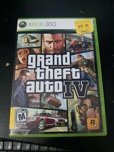 Grand Theft Auto 4  IV GTA (Microsoft Xbox 360, 2008)  With Map